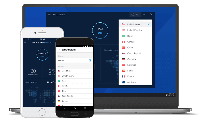 VPN Dashboard